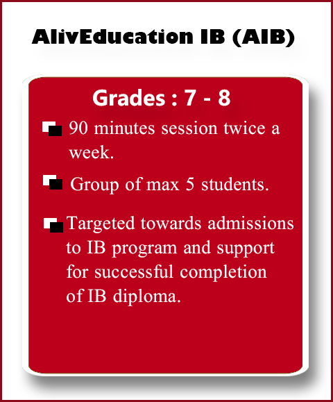 AlivEducation IB Course